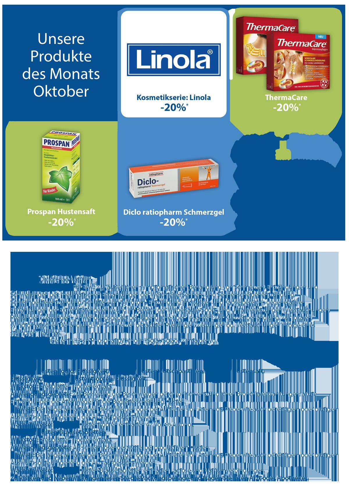 Angebote des Monats Oktober 2020