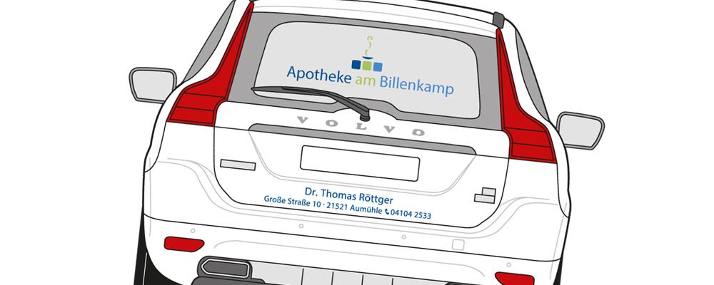 Botenservice Apotheke am Billenkamp, Große Straße 10 21521 Aumühle, Dr. Thomas Röttger, Beratung, Kompetenz, Service.